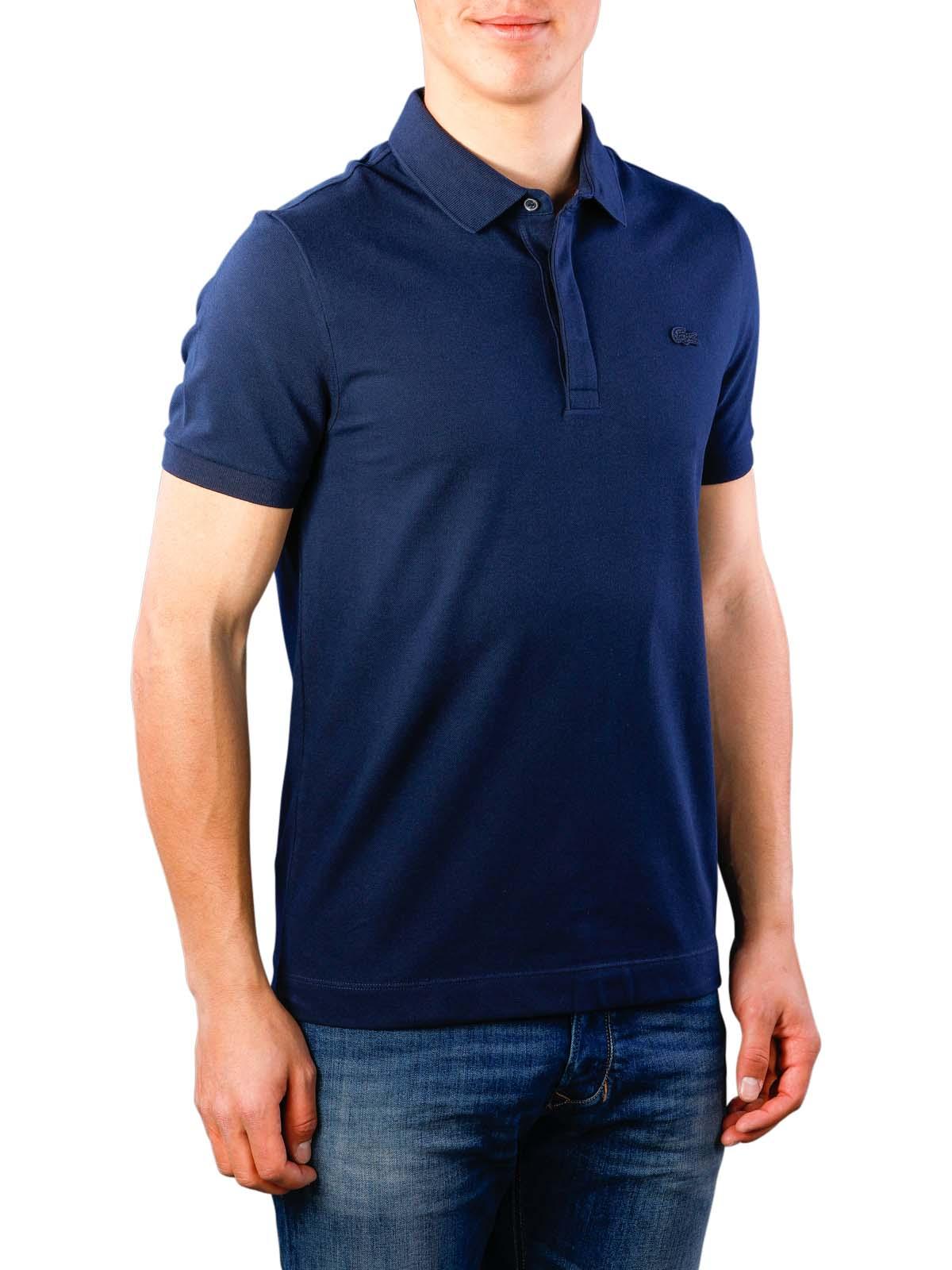 size 40 1999a 00176 Lacoste Polo Shirt Stretch marine